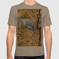 Milk Weed Pods Mens Fitted Tee Tri-Coffee SMALL