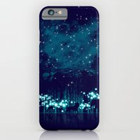 iPhone Cases featuring Cosmic Safari by dan elijah g. fajardo