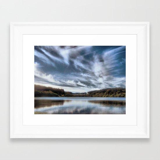 Wistlandpound Devon Framed Art Print