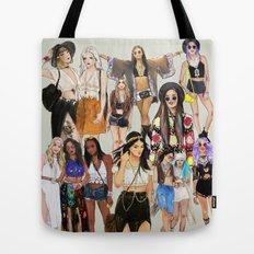 Coachella Girls Tote Bag