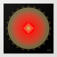 Fleuron Composition No. 141 Canvas Print