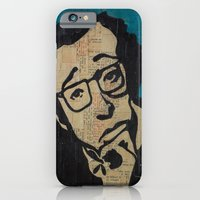 iPhone & iPod Case featuring Tsch - Woody Allen  by Emily Storvold