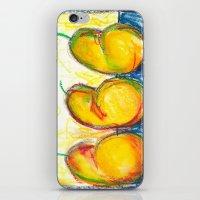 Pear Trio iPhone & iPod Skin