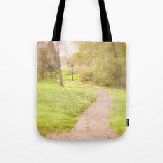 Winding Pathway Tote Bag