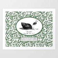 Sloth For Life Art Print