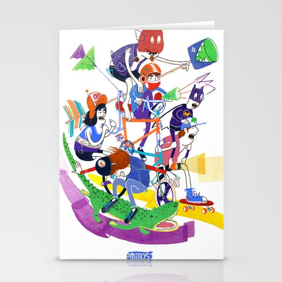 All Together Now! Stationery Card