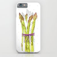 asparagus and mushrooms iPhone 6 Slim Case
