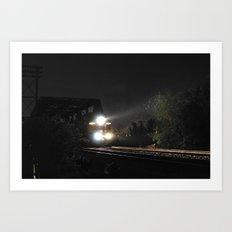 Through the Darkness Art Print