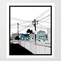 Carrington  Art Print