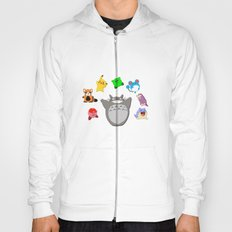 Video game Anime Character Rainbow Hoody