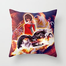 Moto7 Throw Pillow