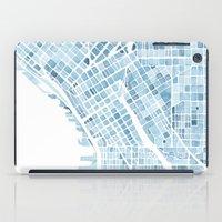 Map Seattle Washington B… iPad Case