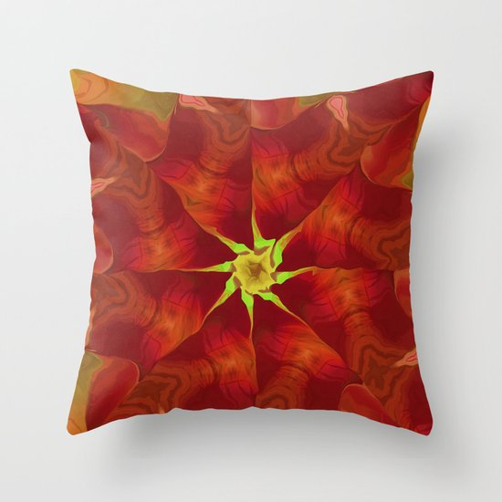 Release of The Heart Throw Pillow