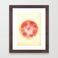 - summer maths - Framed Art Print