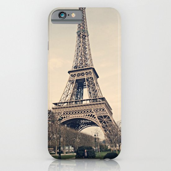 Good Morning Paris iPhone & iPod Case