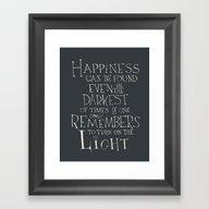 Harry Potter - Albus Dum… Framed Art Print