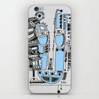 Sad Robot iPhone & iPod Skin