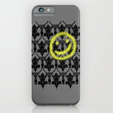 Sherlock smiling wall iPhone 6s Slim Case