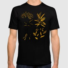 Herbal Apothecary Mens Fitted Tee Black SMALL