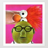 The Muppets - Bunsen And… Art Print
