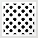 Polka Dots. Art Print