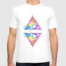harry potter Mens Fitted Tee White SMALL
