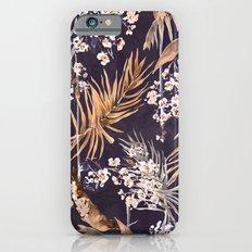 Golden oriental palms Slim Case iPhone 6s