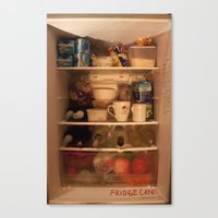 Fridge Candies  3   [REFRIGERATOR] [FRIDGE] [WEIRD] [FRESH] Canvas Print