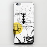 Ant In His Universe iPhone & iPod Skin