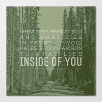 Inside of You Canvas Print