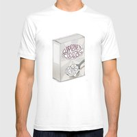 Natural Born Junkie Mens Fitted Tee White SMALL
