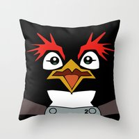 Neon Genesis Evangelion Pen Pen Throw Pillow