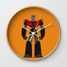 Mazinger Z Wall Clock