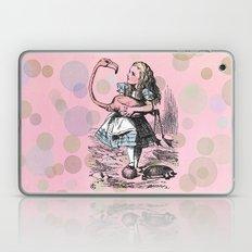 Alice plays Croquet Laptop & iPad Skin