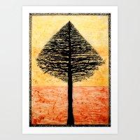 Tree Top. Art Print