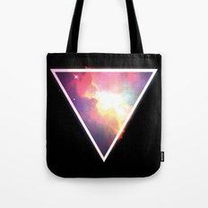 Nebula Triangle Tote Bag