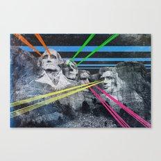 Mt Rushmore, Yo Canvas Print
