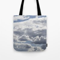 Summer Clouds Tote Bag