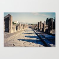 Faded Memories: The Stre… Canvas Print
