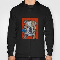 Johnny the English Bulldog Hoody