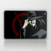 V for Vendetta (e1) Laptop & iPad Skin