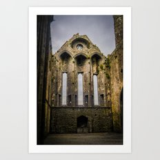 Castle, Ireland Art Print