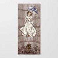 Leia's Corruptible Morta… Canvas Print
