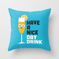 Thanks a Brunch Throw Pillow