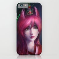 iPhone & iPod Case featuring Nine tailed fox  by Sanjin Halimic