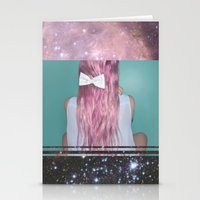 Nebula Girl Stationery Cards