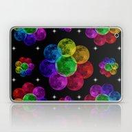 Flower Moon Laptop & iPad Skin