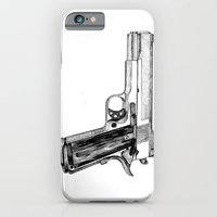 iPhone & iPod Case featuring GUN by Seth Beukes