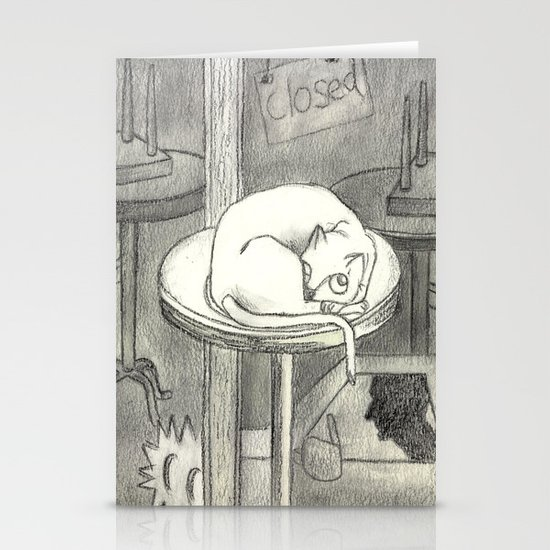 closed Stationery Card