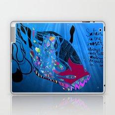 John 8/44+TheFish Nonrandom-art2 Laptop & iPad Skin